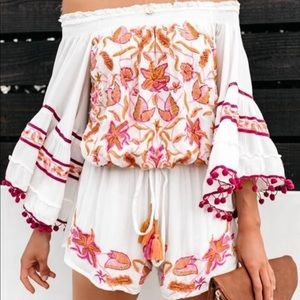 Raga shorts romper from vici